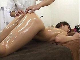 japanese porn - herbal oil massage