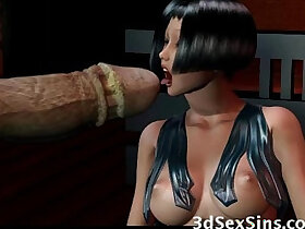 3d porn - Creatures Gangbang 3D Babes!