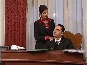 banged porn - Hot secretary in mini skirt banged by her head office