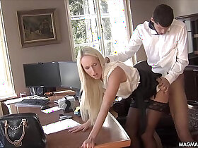 office porn - MAGMA FILM Fucking the office secretary