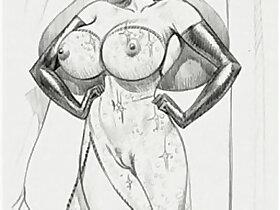 big boobs porn - Huge boobs busty big tits hardcore gangbang fuck sex erotic bondage toons comic