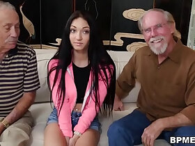 old man porn - Crystal Rae Fucks The Hell Out Of Old Man!