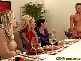 cfnm porn - Cfnm Ahryan Astyn and pals share cock