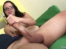 jerking porn - Teen Jerks Off A Matute Man