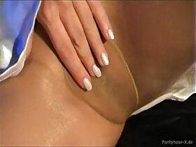 fetish porn - Pantyhose Masturbation