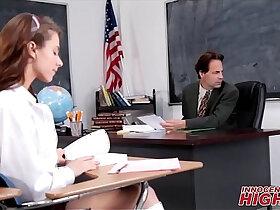 girl porn - Skinny High School Girl is Fucked By Teacher In Detention