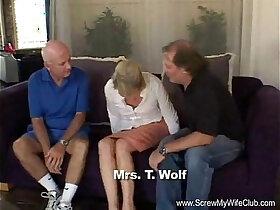 abuse porn - Blonde Swinger Slut Mrs. Wolf Abused