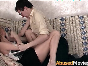stepbrother porn - Geeky Stepbrother Force Fucking His Stepsister
