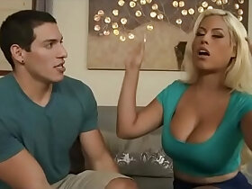 mom porn - Mom and her favorite Son watch