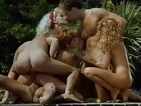 group porn - A Group Of Horny Ladies Get Fucked Beside A Pool