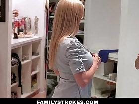 family porn - FamilyStrokes Milf Fucked By StepSon